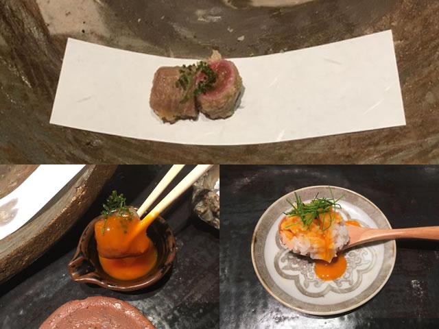 姫路魚町にある天麩羅 團(だん)は、斬新な天ぷらと粗挽き手打ち蕎麦が楽しめる。
