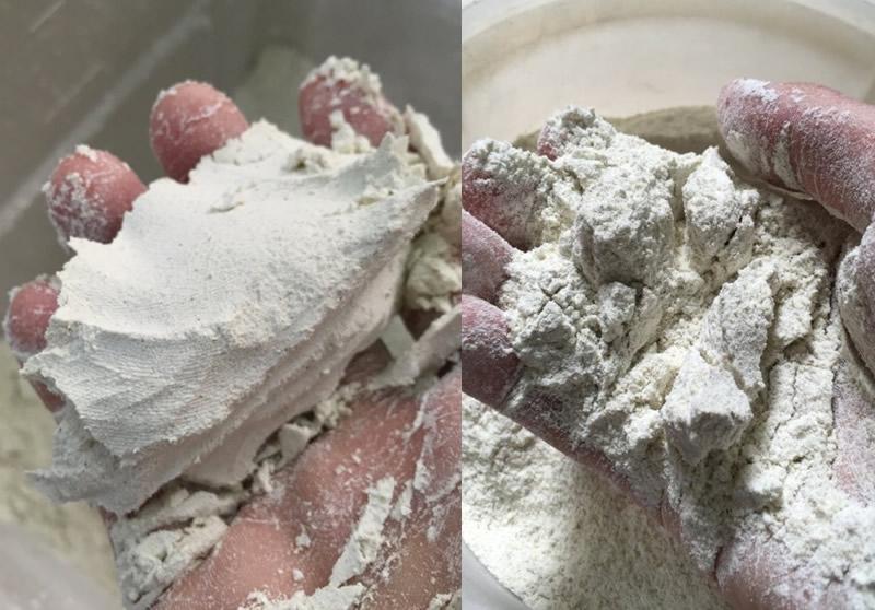 粗挽きそば粉の難しさと【吉峰】抜粗挽そば粉の加水率、十割打ち/二八打ちのポイント3つご紹介。