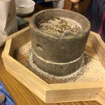 「焼畑そば栽培2018(後編)」福井県美山町で行った焼畑そばを手挽き石臼製粉して手打ちそばを味わう。