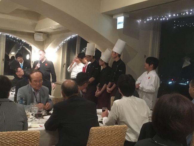 """ドミニク・コルビ シェフと 福井の""""食""""を楽しむ会@イル・ヴィゴーレ(サバエ・シティーホテル)"""