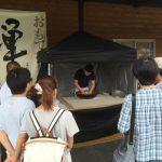 道の駅禅の里(永平寺町)にて、永平寺在来そば粉100%の粗挽き手打ち十割そば祭りが開催されました。