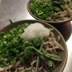 [蕎麦で健康100日ダイエット] 福井県産そば粉の手打ち蕎麦と丹生膳野菜を使用した絶品おろしそば。