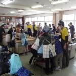 越前そば連合の「出張!蕎麦打ち体験教室」@金沢市西南部小学校にて子供たちに本場のおろしそばを堪能していただきました。