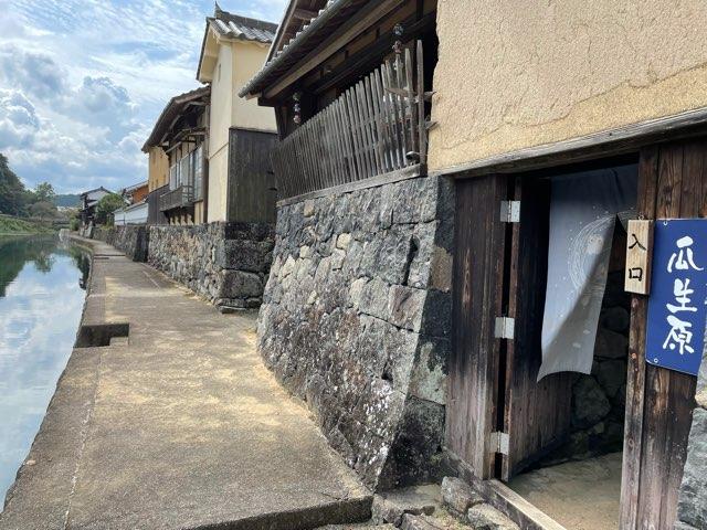 宿場町平福のお休み処瓜生原(兵庫県佐用町)でいただく、香り高い手打ち田舎そばは絶品。