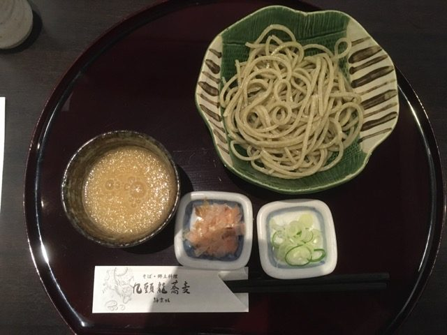 福井在来種そばを楽しむ、第2回ふくいのそばを食する会@九頭龍蕎麦(神楽坂)