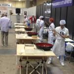 全国高校生そば打ち選手権を視察する為、麺産業展2014 in東京ビッグサイトに行ってきました。