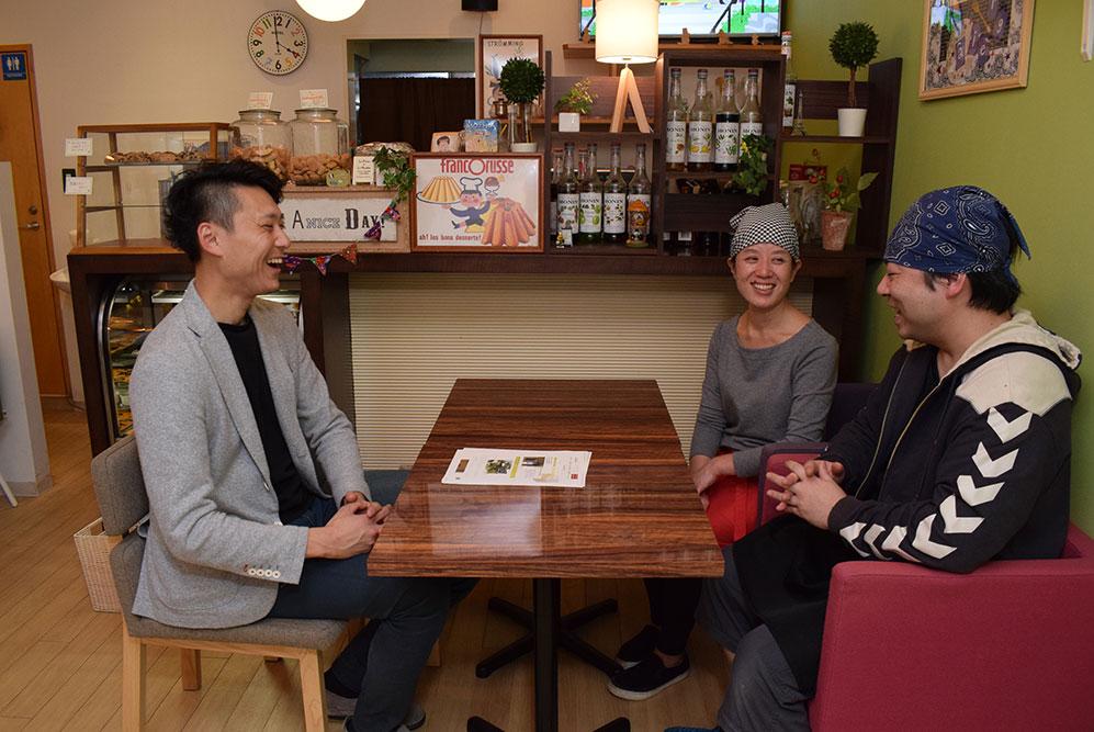 カフェ やさしいちから。 金子ご夫妻と