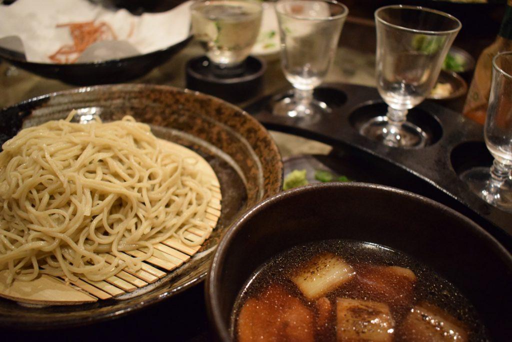 蕎麦居酒屋 西九条「樹楽(きらく)」様 鴨蕎麦